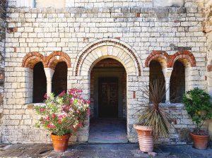 Facade of the Parish Church of San Cresci