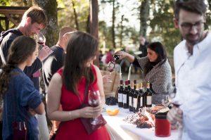 San Cresci wine tasting